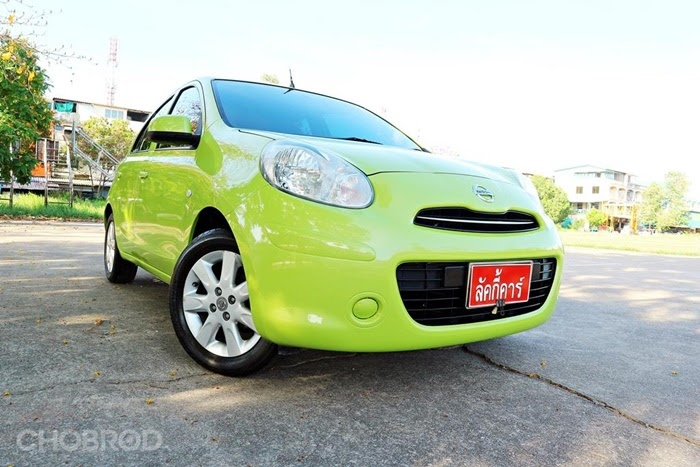 Nissan March รุ่น E 1.2 AT