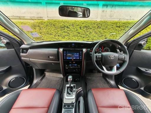 การออกแบบภายใน Toyota Fortuner 2018