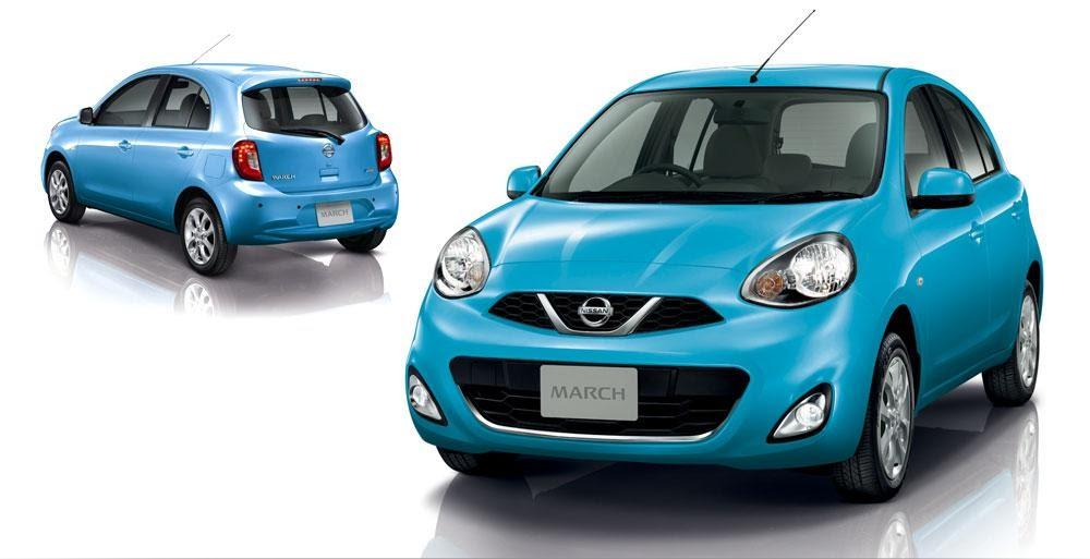 Nissan March รุ่น E CVT